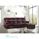 Modernes ledernes Recliner-Sofa für Heimkino (DW-6012-1S)