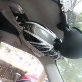 Cubierta interior protegida ULTRAVIOLETA material del espejo de 2014 últimos de Mini Cooper de unión de gato ABS negros del estilo para Mini Cooper F56 (1 PCS/Set)
