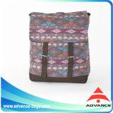 Eco Baumwollsegeltuch-Laptop-Schule-Arbeitsweg-Sport-Rucksack in der Nizza Farbe