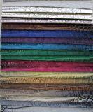 2017年の家具製造販売業によって浮彫りにされるPU PVC袋のハンドバッグの革(YB-024)