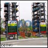 Вертикальная роторная франтовская система стоянкы автомобилей 2017 для 12 автомобилей