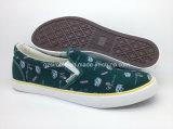 Ботинки ботинок холстины женщин классицистические вулканизированные резиновый