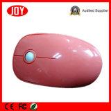 L'ordinateur rose de couleur partie la souris optique