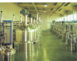 Laborbiologischer Gärungsbehälter für die Hefe bakteriell