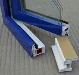 Type série en plastique de tissu pour rideaux du guichet Profile-65