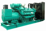 Googol 2400kw 3000kVAのディーゼル発電機MWの発電所を平行にすること