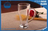 cuvette en verre en verre transparente à haute teneur de jus de cuvette de thé 320ml