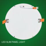 Высокий свет панели ватта СИД снабжения жилищем 12 яркости ультра тонкий алюминиевый