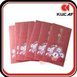 Sobre rojo Ecológico de papel barato para la venta