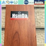 Hsinda Epoxy poliéster madera Grain 3D transferencia de calor en polvo de recubrimiento