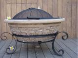 30インチの古いフロンティアの煉瓦マグネーシアの火ピットの暖炉
