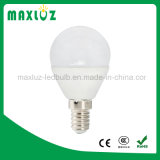 Bulbo de bola de golfe LED Dimmable E27 4W com branco