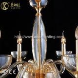 Indicatore luminoso semplice di vetro del pendente di Champagne
