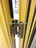 Puerta de aluminio 5 del marco del oscilación de la capa del polvo del hogar milímetro + 9 a + 5 milímetros