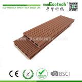 Decking composito di plastica di legno dell'installazione facile di spessore di 23mm
