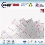PE non-tissé de tissu de papier d'aluminium enduisant r3fléchissant élevé