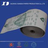 Le rebut de papier de papier thermosensible des prix les plus populaires de roulis