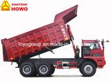 Тепловозная тележка сброса минирование HOWO 70t 6X4 с 420HP