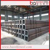 Tubo d'acciaio quadrato galvanizzato caldo principale di qualità ERW