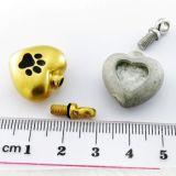 Ювелирные изделия кремации оптовой продажи ювелирных изделий кремации формы сердца привесные