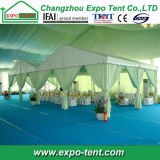 Tentes extérieures de luxe d'usager avec la décoration de garniture