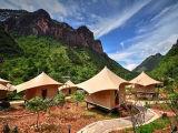 ホテルの屋外のイベントのテントは小さいイベントのために玄関ひさしのおおいのテントを使用した