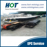 Serviço da MPE para o extração de carvão Longwall