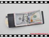Raccoglitore del supporto di scheda della clip dei soldi degli uomini sottili del raccoglitore