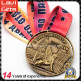 Alta calidad especial ejecutada Deportes medalla de oro de la antigüedad