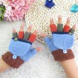 도매 겨울 조가비 장갑을%s 가진 새로운 뜨개질을 한 온난한 아이들 Fingerless 장갑