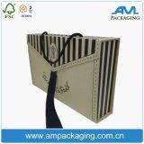 란제리 의류를 위한 상자를 접히는 포장 판지 상자 손잡이