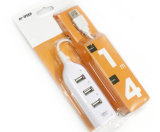 USB 2.0 Hub met Haven 4 USB tot 480Mbps