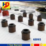 Jogo cheio 6D95 da gaxeta da revisão para as peças de motor da máquina escavadora