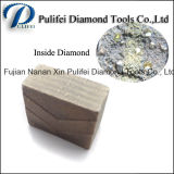 Диск диаманта алмазных резцов Китая сделанный фабрикой каменным паяемый этапом