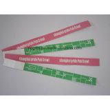 Pulseras impermeables disponibles de un del tiempo PVC del uso