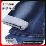 Comfortable Indigo Cotton Poly Spandex Jeans Denim Fabric