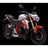 Los 2016 nueva calle descubierta de Zonshen Cyclon Rz3 250cc 4t ECUs que compite con la motocicleta inteligente del camino de la linterna del instrumento de Digitaces del cristal líquido de la motocicleta H4