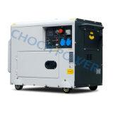 판매를 위한 공기에 의하여 냉각되는 휴대용 6.5kVA 침묵하는 디젤 엔진 발전기