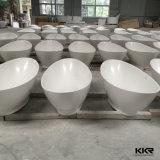 Vasca da bagno su ordinazione della pietra della resina di formato di prezzi di fabbrica
