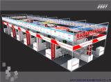 Строитель будочки стойки выставки международного стандарта