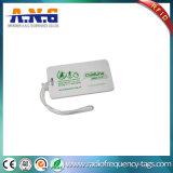 HF stampata plastica su ordinazione RFID Keyfob per il randello