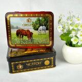 Kundenspezifischer Tee-verpackenkasten, Tee-Geschenk-Kasten, Tee-Zinn-Kasten hergestellt in China