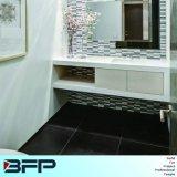 Gabinete de banheiro de MDF laminado de chifre branco Finshi integral