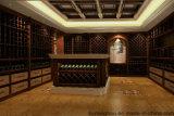 Шикарный шикарный изготовленный на заказ винный погреб погреб для деревянного дома мебели декоративного