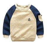 Baumwollsweatshirt-Form-Ausstattungen der Kind-Kleidung-kleinen Jungen-100%