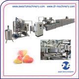Doces da geléia que fazem a máquina da fabricação do equipamento para doces enchidos