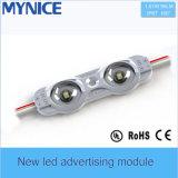 12V 1W 고품질 역광 조명 주입 LED 모듈은 IP67 보장 3years를 방수 처리한다