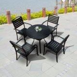 Patio-im Freien Garten-Ausgangshotel-Büro-Gaststätte Polywood Tisch-und Arm-Stuhl (J812)