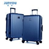 Diseño de moda ABS + equipaje PC 20 24 pulgadas de equipaje de carretilla