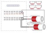 tipo comum equipamento das canaletas 120kw 12 de tratamento térmico da solda do borne